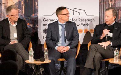 Als Hoffnungsbaum-Vertreter beim Autophagie-Kongress in New York