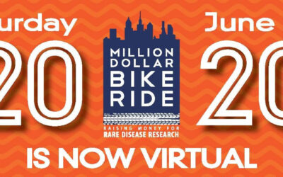 "Virtuelles Benefiz-Radrennen ""Million Dollar Bike Ride"" für BPAN bis zum 13. Juni 2020"