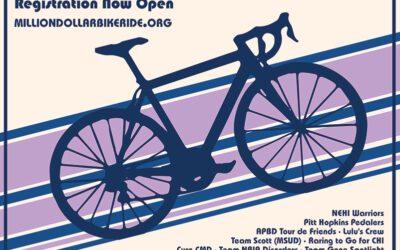 Radfahren für BPAN – Million Dollar Bike Ride 2021