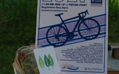 Radeln für Laurin im Rahmen des Million Dollar Bike Ride